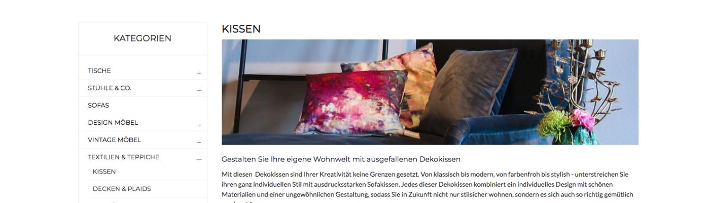 sofakissen gro e auswahl und gute preise 2018. Black Bedroom Furniture Sets. Home Design Ideas